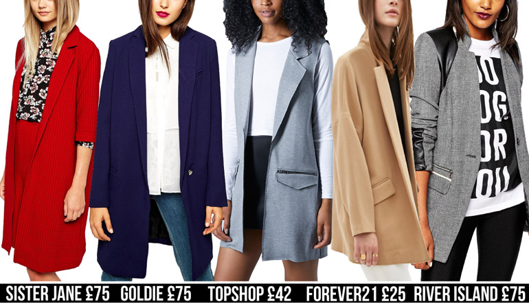 blazer fashion high street winter coats
