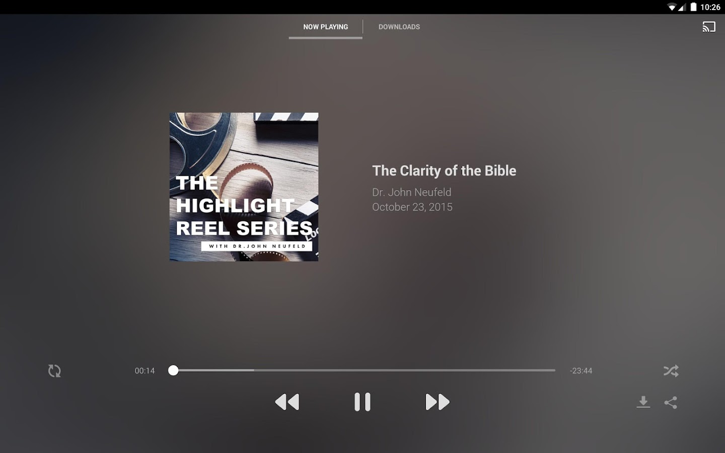 Back to the Bible Canada- screenshot