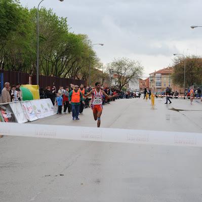 Carrera de Manzanares 2012 - Llegada