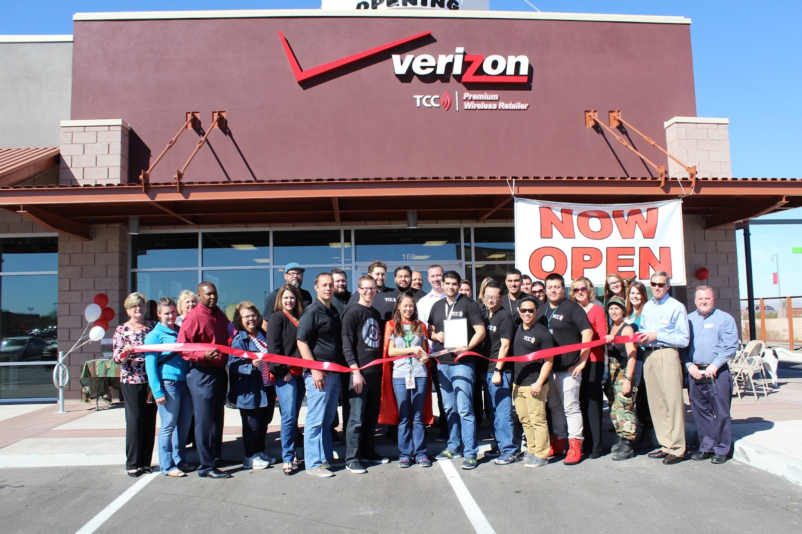 TCC Cellular Connection located at 1580 E. Tucson Marketplace Boulevard #160, 85713, is pleased to announce that they now have a TCC Verizon Store in Tucson Marketplace.