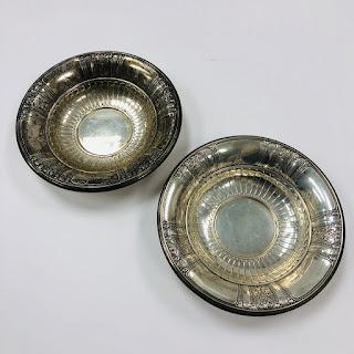 Sterling Silver Gorham Frontenac Bowl Pair