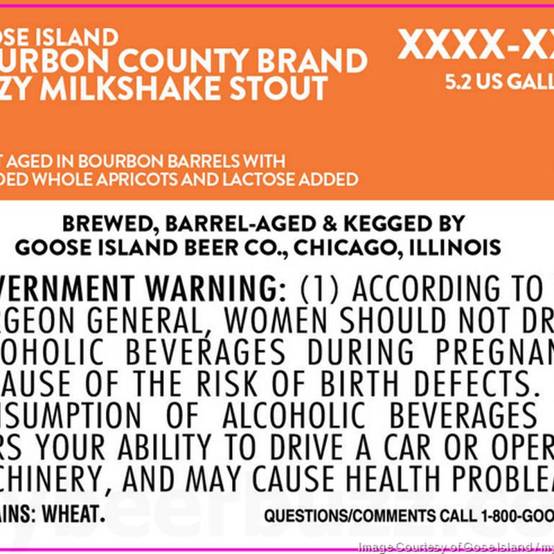 Goose Island Adding Bourbon County Brand Hazy Milkshake Stout