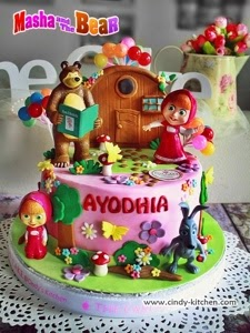 TheCAKE Masha and the bear BDCK