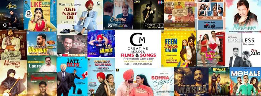 Best Online Songs Promotion Company in Ludhiana Creative Moudgil