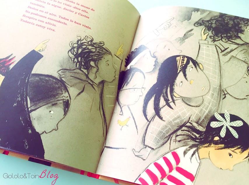 la-biblioteca-bullying-acoso-escolar-no-divertido-cuento-literatura-niños