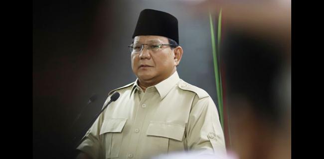 Pengamat: Didorong Nyapres Lagi, Suara Prabowo Segitu-gitu Saja