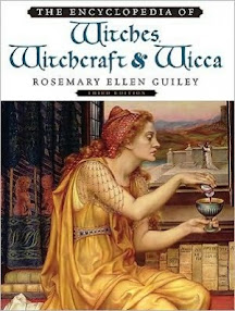 Cover of Rosemary Ellen Guiley's Book The Encyclopedia of Witches Witchcraft and Wicca