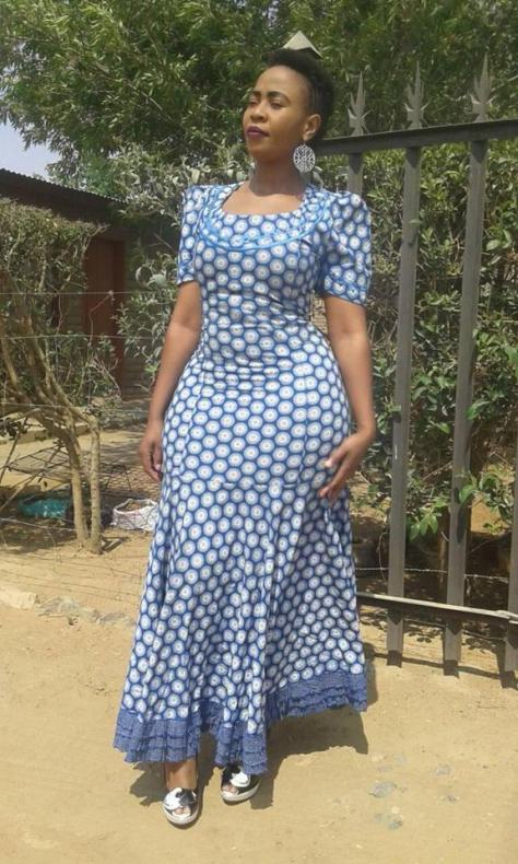 AFRICAN BRIDESMAID WOMAN DRESSES PATTERNS 2