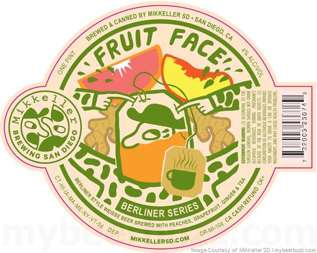 Mikkeller San Diego Adding 9085 KM, 1892 Mi & Fruit Face Peach
