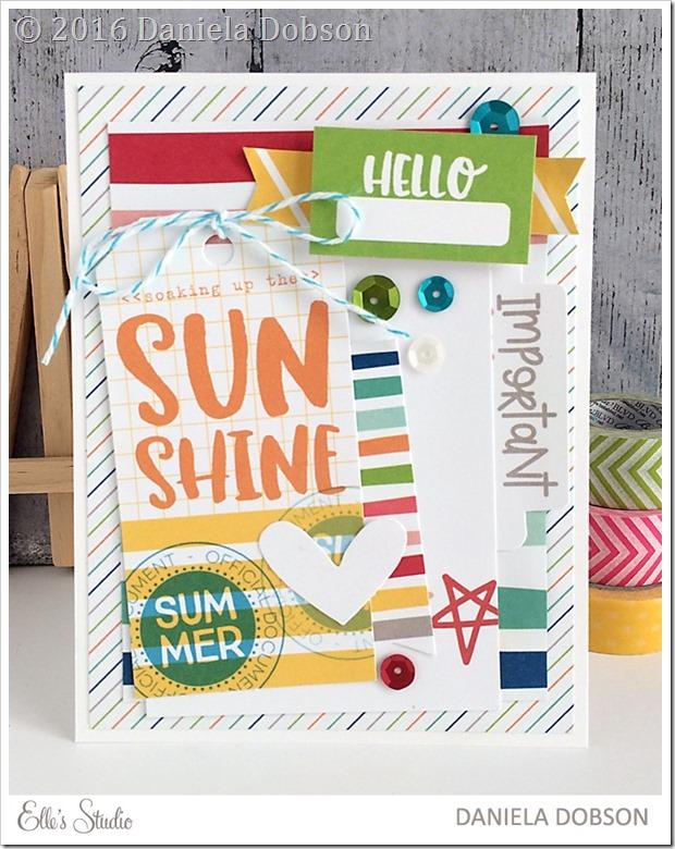 Hello Sunshine  by Daniela Dobson