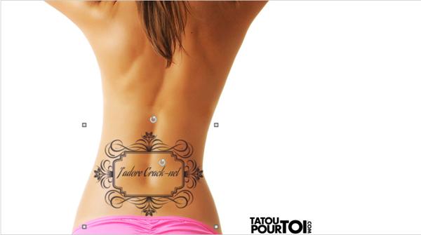 Simuler un tatouage sur votre corps en ligne