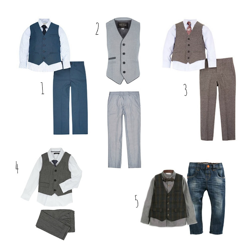 5 wedding outfits for boys