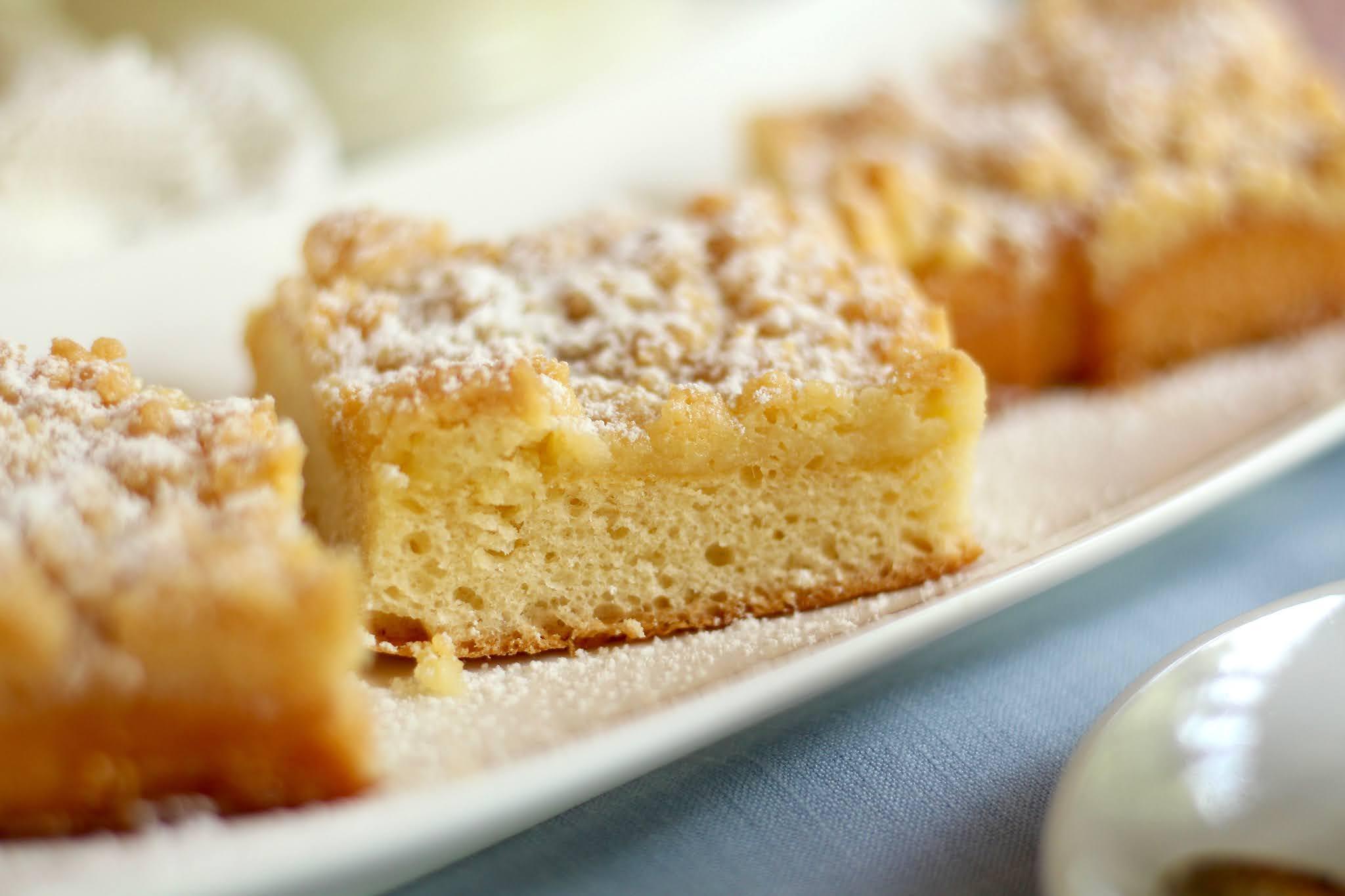 Streuselkuchen backen! Mein Grundrezept für Hefekuchen mit Streuseln | Rezept und Video