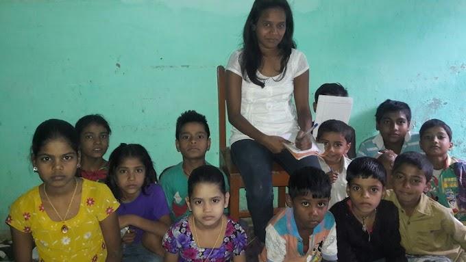 सुप्रिया मेरी दे रही दलित बच्चों को निशुल्क शिक्षा