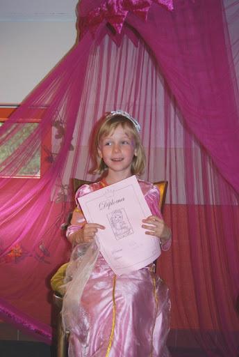 Een echt prinsessendiploma!