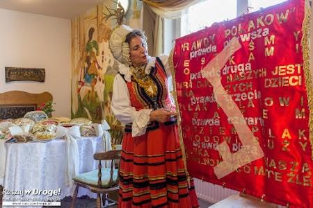 Rita Kostka - opowiadała nam o warmińskich wartościach