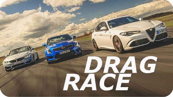 Alfa vs BMW vs Cadillac