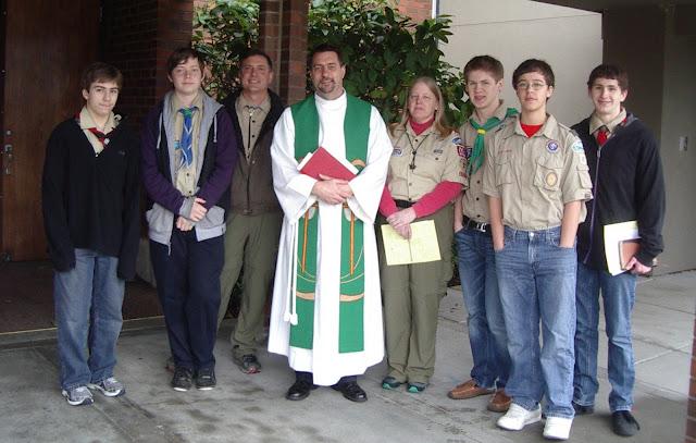 Scout Sunday 2011