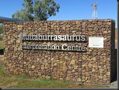 180510 025 Muttaburra Muttaburrasaurus Interpretation Centre