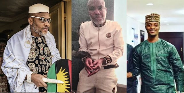 Nnamdi Kanu Should Be Locked Up In A Cell With A Cow – El-rufai's son Bashir Begs Buhari