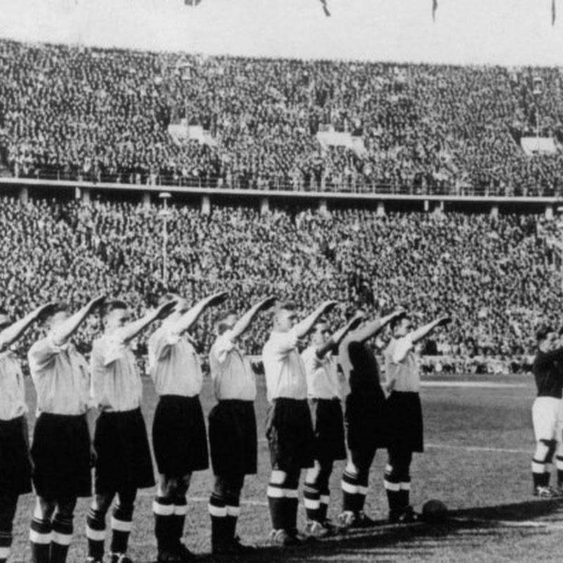 O dia em que a seleção inglesa de futebol fez a saudação nazista