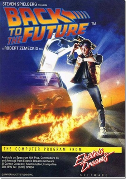 Back to the Future (8 Bits Computer Cover)