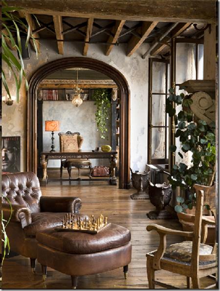 Gerard Butler S Old World Style Manhattan Loft New Home