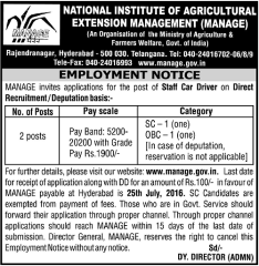 MANAGE-Staff-Car-Driver-2016-www.indgovtjobs.in