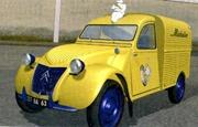 Citroën 1954 2 CV AU Michelin