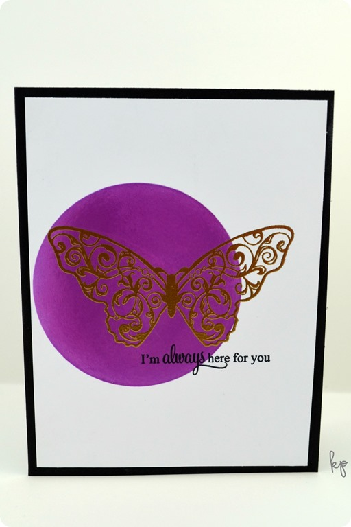 Always Here Butterfly