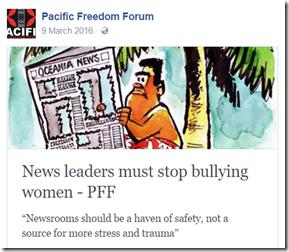 PFF bullying