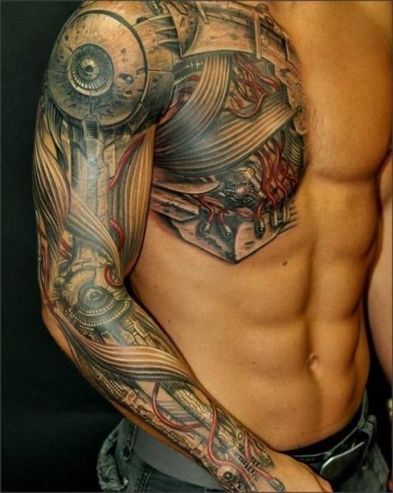steampunk_e_bio-mecnica_luva_cheia_de_tatuagem