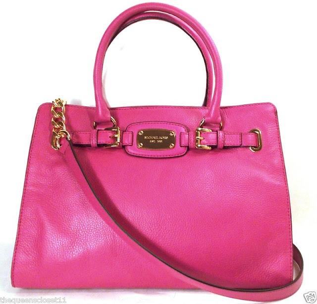 S H O P Michael Kors Hamilton Large Ew Tote Hand Bag