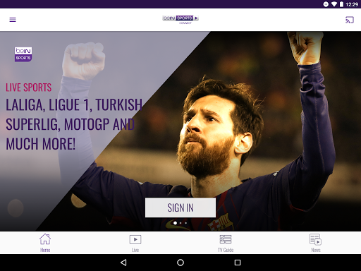 beIN SPORTS CONNECT - screenshot