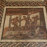 Musée d'archéologie nationale, Gaule romaine : mosaïque de Saint-Romain-en-Gal (détail)