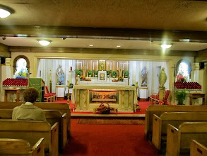Photo: Lower chapel in Sacred Heart Church