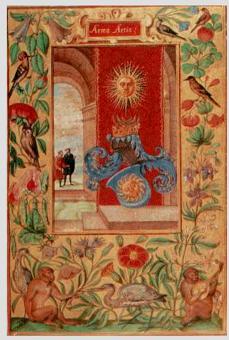 The Arms Of The Art From Splendor Solis, Hermetic Emblems From Manuscripts 1