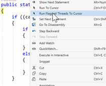 Debugging tactics for Visual Studio