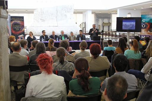 Lansare documentar Cosmos - Muzeul de National de Istorie - Bucuresti 2014
