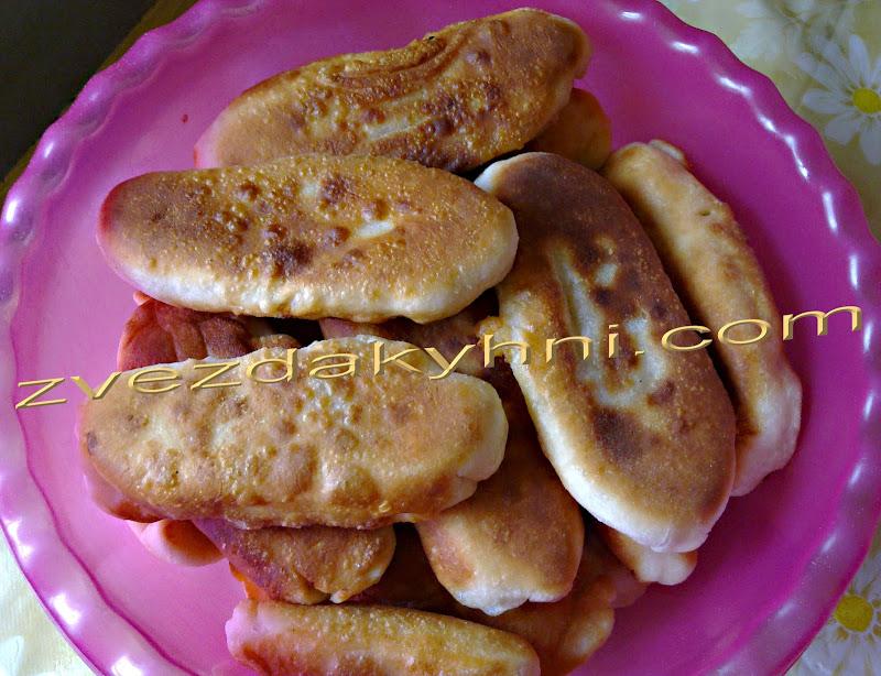 Пирожки жареные на кефире
