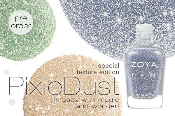 Zoya Pixi Dust Nail Polish Collection For Spring 2013