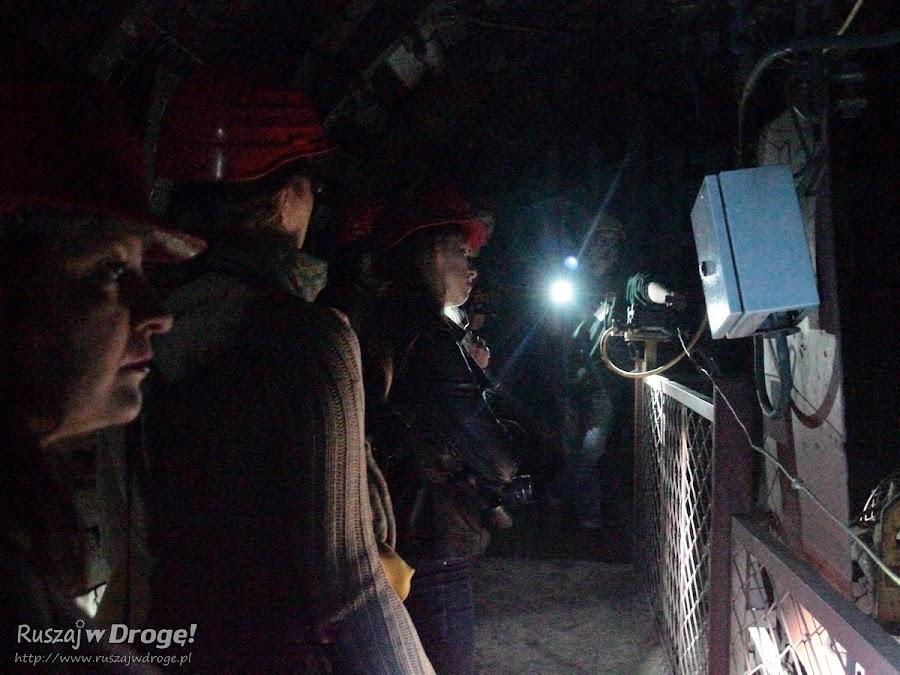 Kopalnia GUIDO w Zabrzu - zwiedzanie po ciemku z latarkami