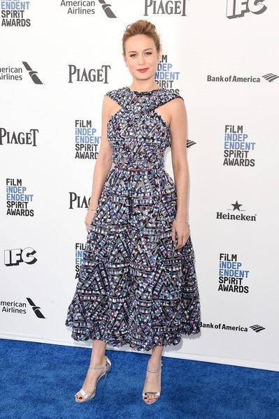 Brie Larson attends the 2016 Film Independent Spirit Awards