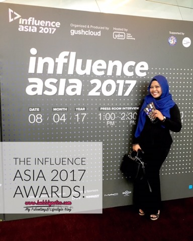 THE INFLUENCE ASIA 2017 AWARDS!