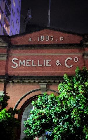Smellie & Co building sign (Brisbane, Australia)