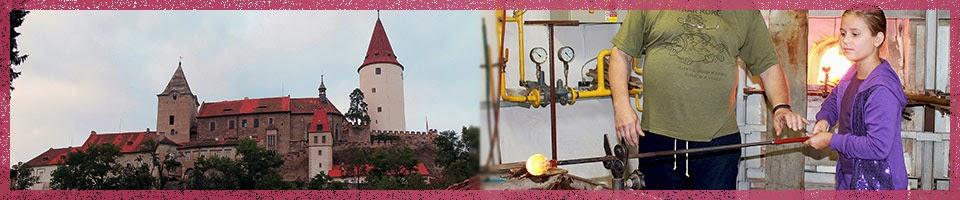 Стеклодувная мастерская-Замок Кршивоклат