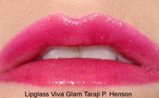 VivaGlamTarajiPHensonLipglassMAC22