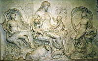 Θεά Γαία,μυθολογία,Κοσμοκράτηρα,πρωτόγενοι θεοί.