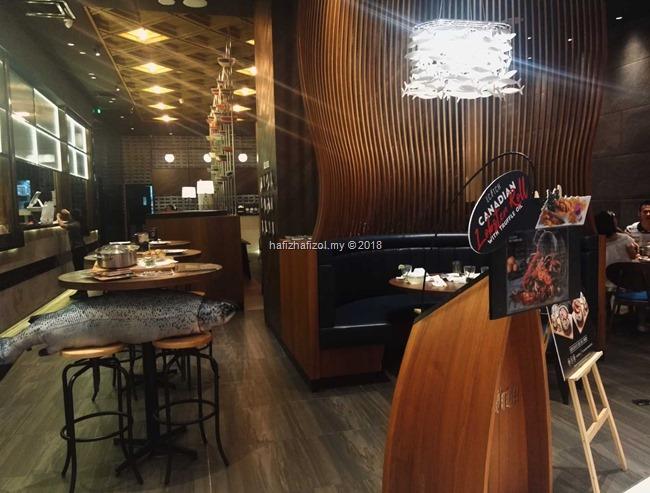 Tempat Makan Seafood Best di KL–Nice Catch Pavilion