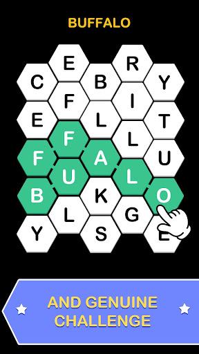 Word Hex Key: Puzzle On Hexa screenshot